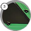 injektorová pískovací kabina - detail