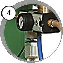 injektorová tryskací kabina eco - detail