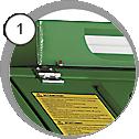 injektorový pískovací box eco - detail