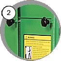 injektorový tryskací box eco - detail