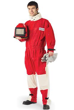 Ochranný oblek na pískování
