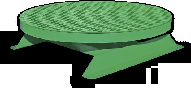 Stabilní otočný stůl