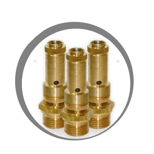 ventil SV tlakové nádoby RV Comprag