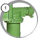 Tryskací zařízení DBS-100/DBS-200 - detail