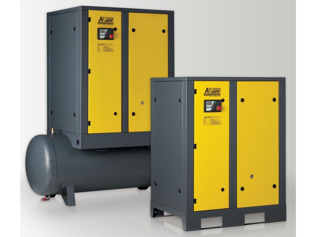 Šroubové kompresory Comprag série A s kapacitou 2,3 m3/min