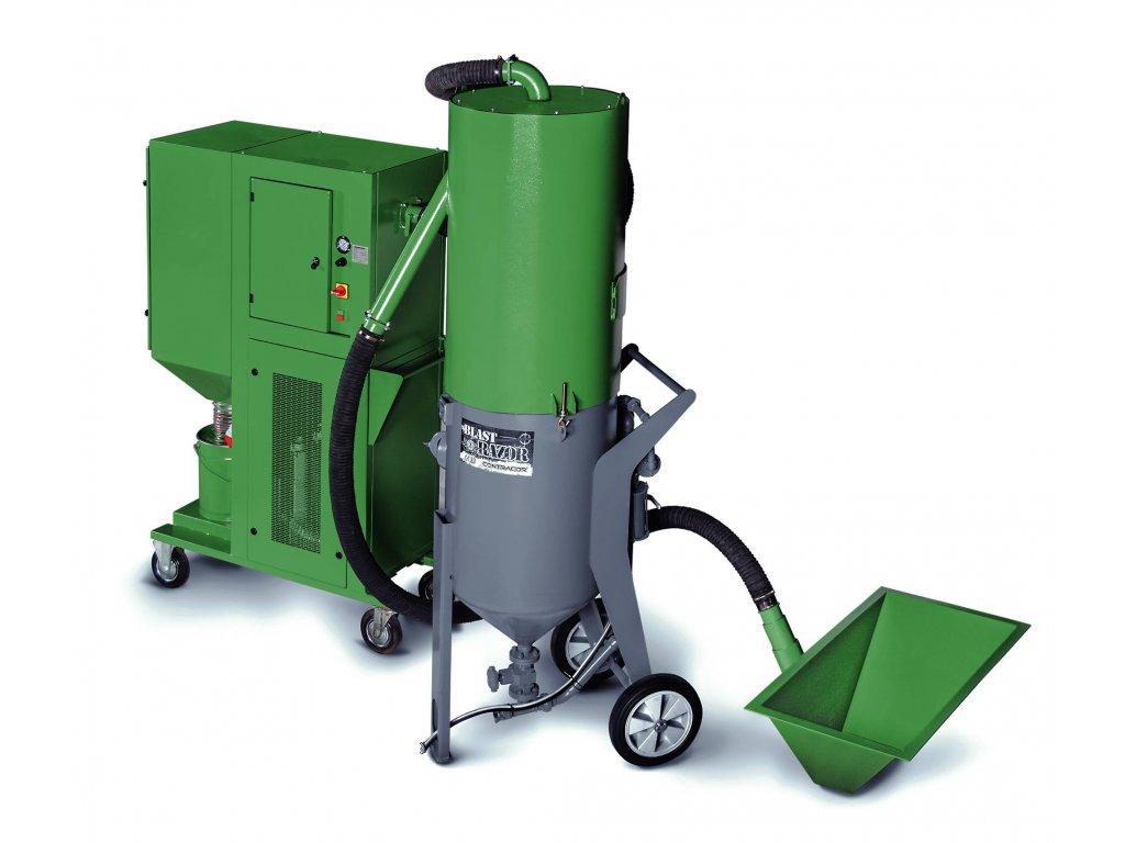 VAC-5 systém recyklace abraziva