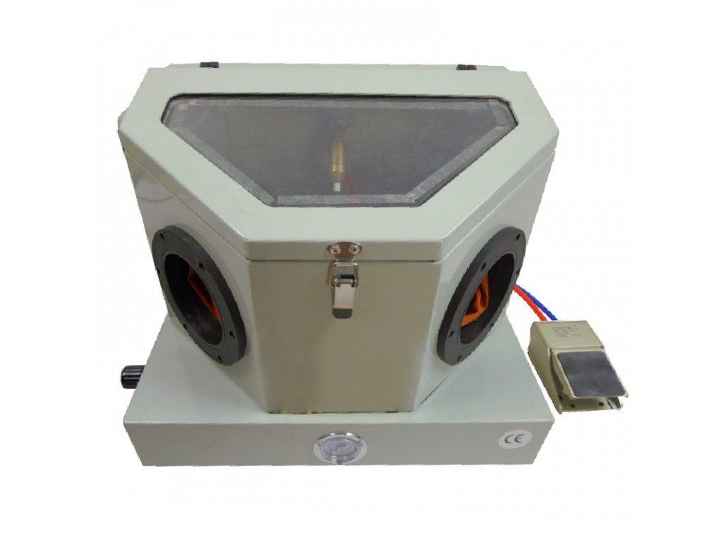 stolní pískovací box - objem 30 litrů