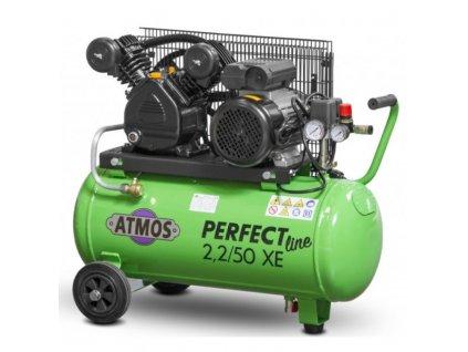 Pístový kompresor ATMOS Perfect line 2,2 kW, 50 litrová nádrž