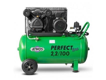 pístový kompresor Atmos Perfect line 2,2 kW, nádrž 90 litrů