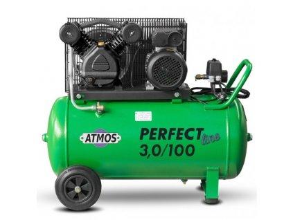 pístový kompresor Atmos Perfect line 3 kW, nádrž 90 litrů
