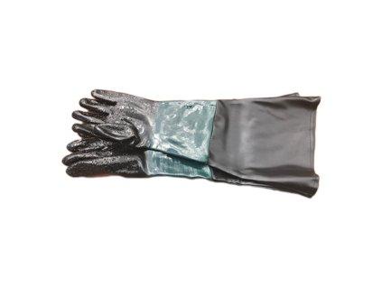 ochranné rukavice do pískovacího boxu SBC