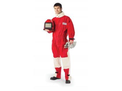 Ochranný oblek pro pískování - kožený