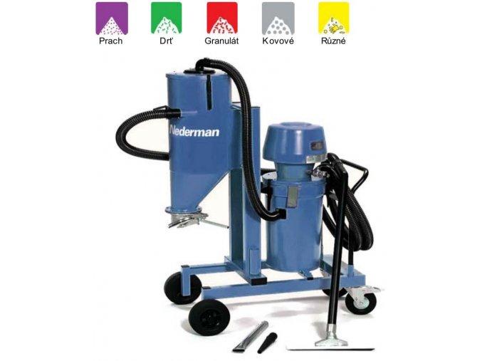 Průmyslový vysavač s dvojitým filtrováním 405A