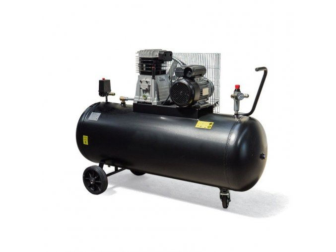 Kompresor pístový 200l, 2.2kW, 8bar