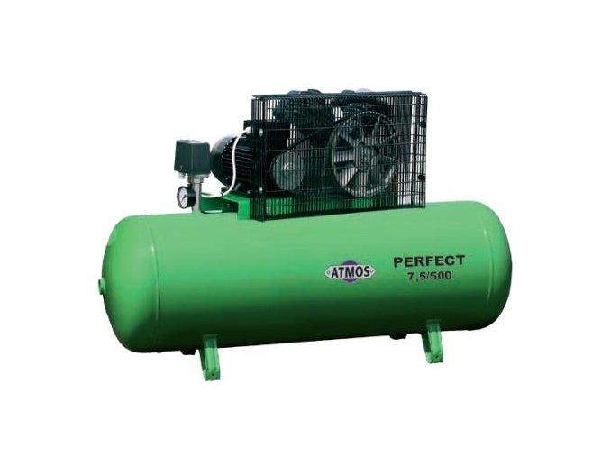 Kompresor Pístový ATMOS PERFECT 7,5 - 920l/min. 10Bar 500l nádoba
