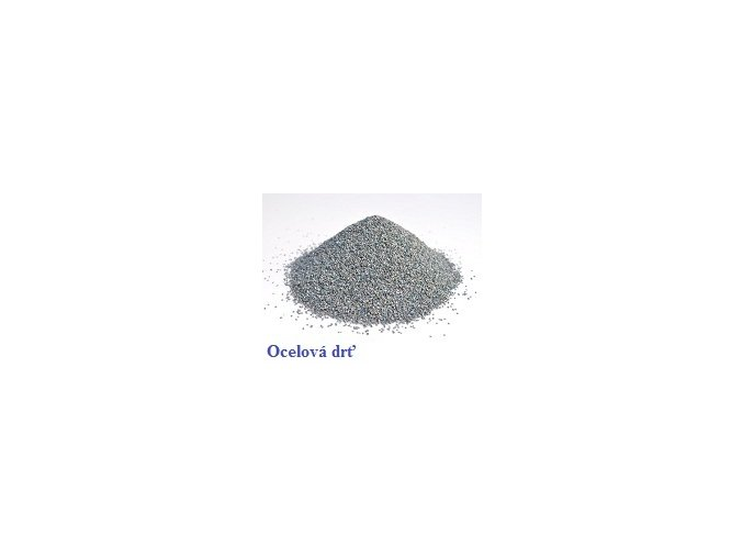 ocelová drť