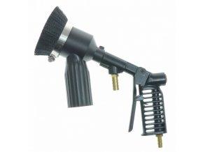 Tryskací pistole s kartáčem - pro pískovačku s odsáváním SB 28