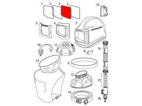 vnitřní ochranná folie pro kuklu Comfort Contracor