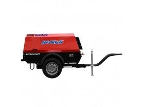 mobilní šroubový kompresor MDVN Rotair, diesel