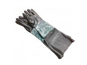 Ochranné rukavice pro tryskací box SBC