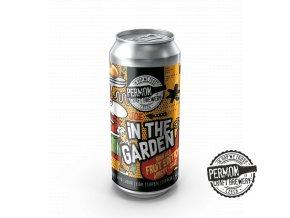 PERMON 3D VIZUALIZACE Etiketa JOE Apricot Garden PLECH