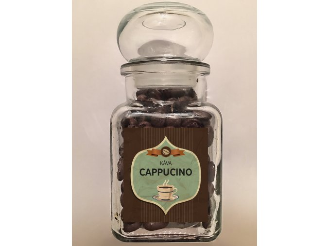 Sklenička Káva Cappuccino