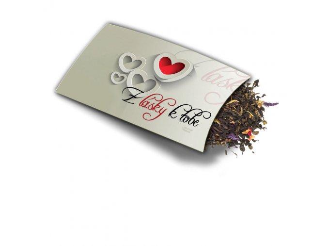 Přání s dárkem Z lásky k Tobě
