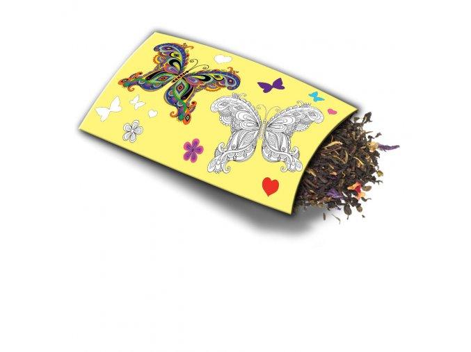 Přání s dárkem Motýl