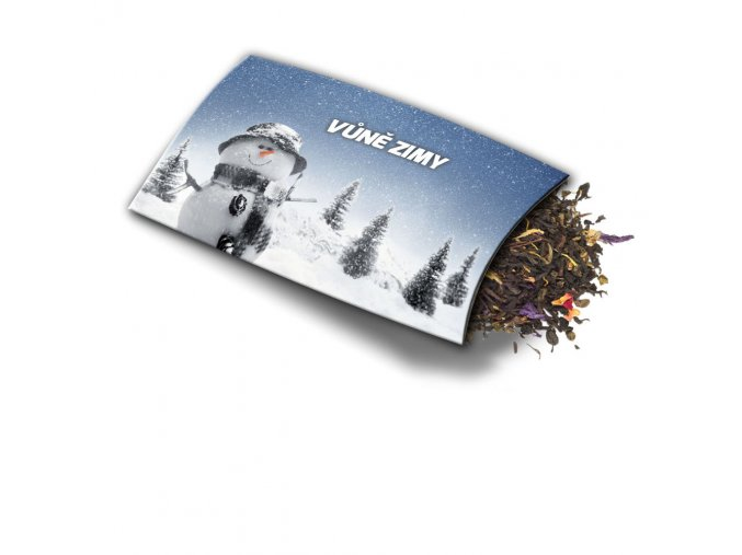 Přání s dárkem Vůně zimy