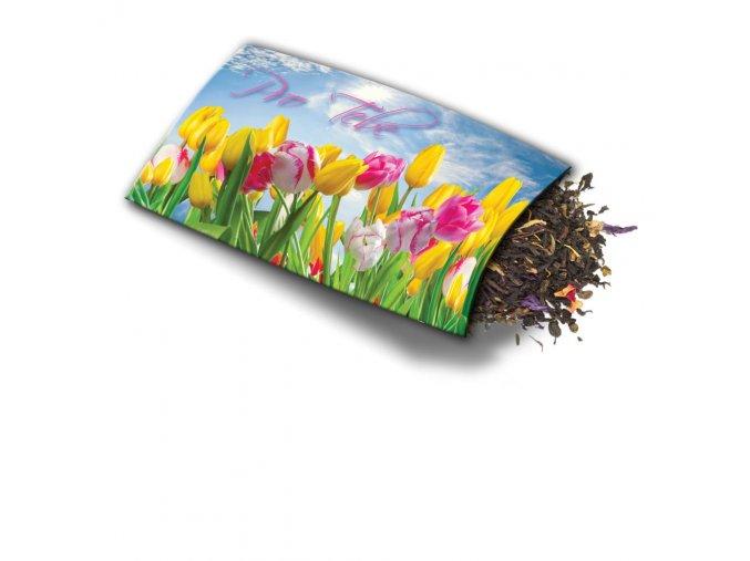 Přání s dárkem Tulipány