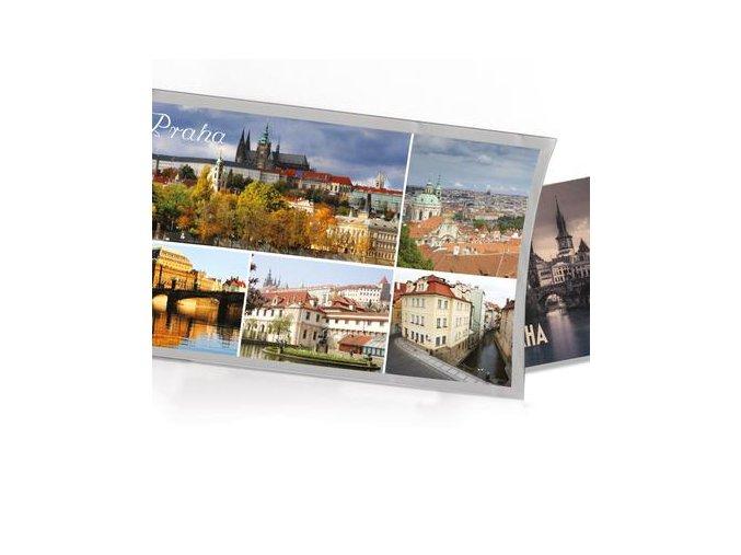 Přání s dárkem Praha mix obrázky