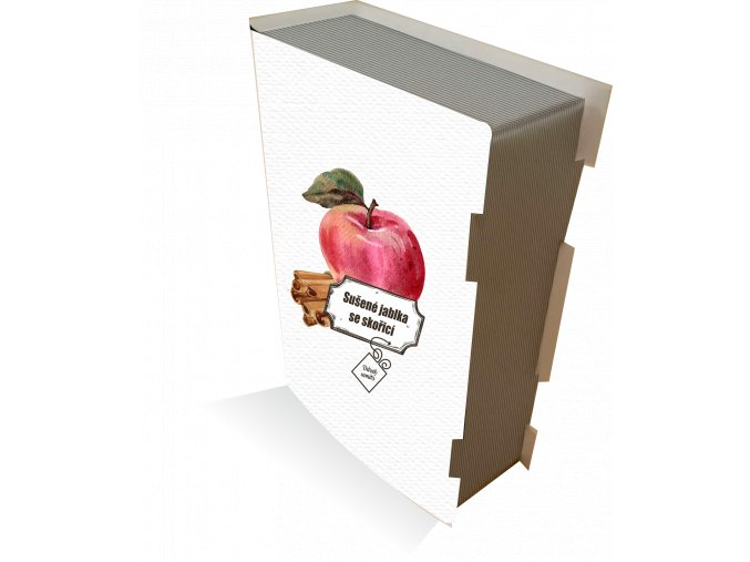 kniha jabko skorice