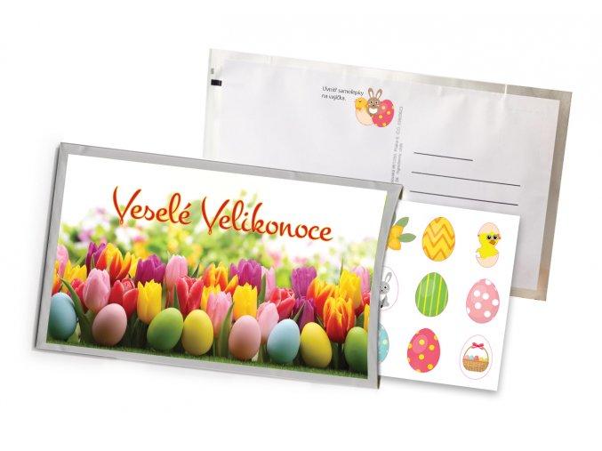 59244 Velikonoce tulipány mockup