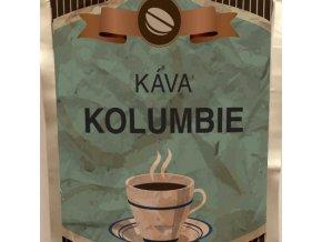 Káva Kolumbie stříbrný sáček