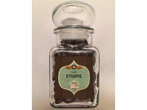 Sklenička káva Etiopie