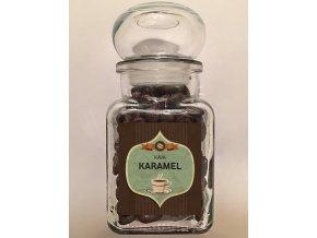 Sklenička Káva Karamel