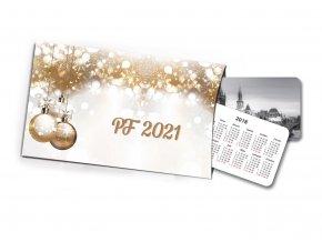 Pohled s dárkem PF 2019