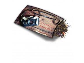 Pohled s dárkem - Pro chvíle vzpomínek