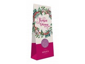 Koupelová sůl v krabičce Krásné Vánoce