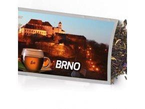 Pohled s dárkem Brno hrad