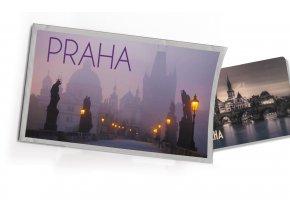 Pohled s dárkem Praha sochy
