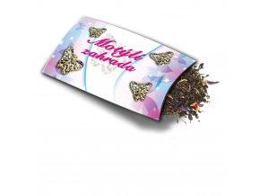 Pohled s dárkem Motýlí zahrada