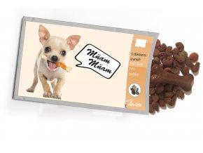 Pohled s dárkem Pes