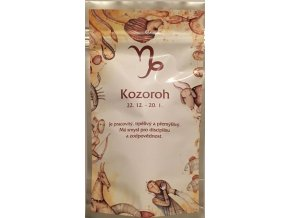 Ovocný čaj Horoskop Kozoroh stříbrný sáček