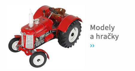 Modely a hračky