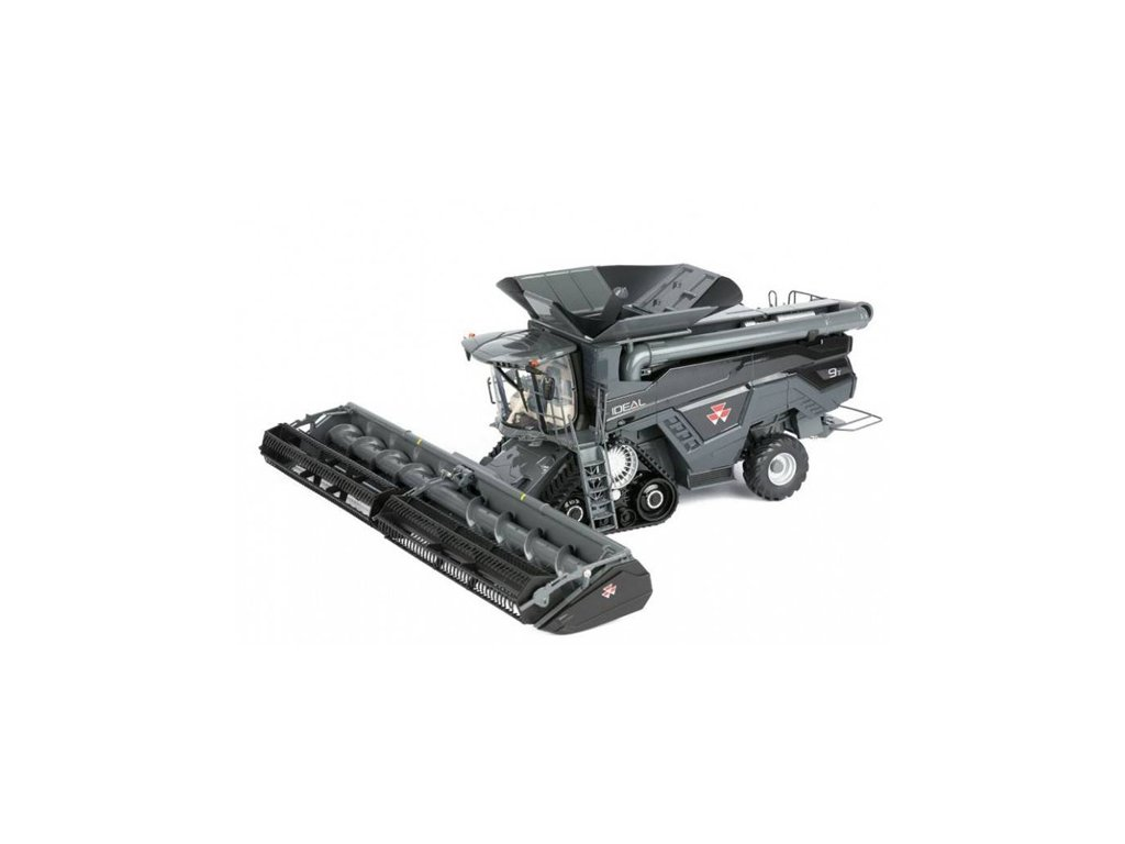 Massey Ferguson IDEAL 9T Combine Harvester with corn and grain cutters ROS 503083