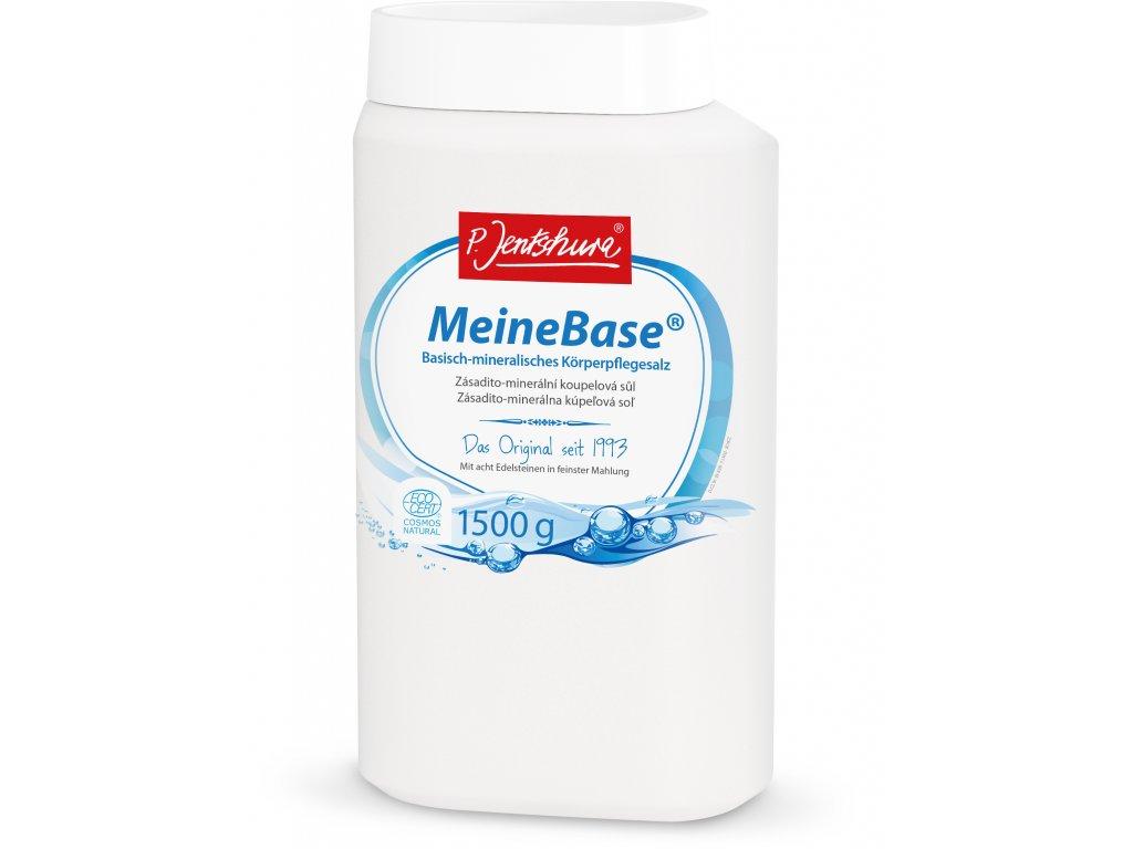 P. Jentschura MeineBase zásadito-minerální koupelová sůl 1 500 g