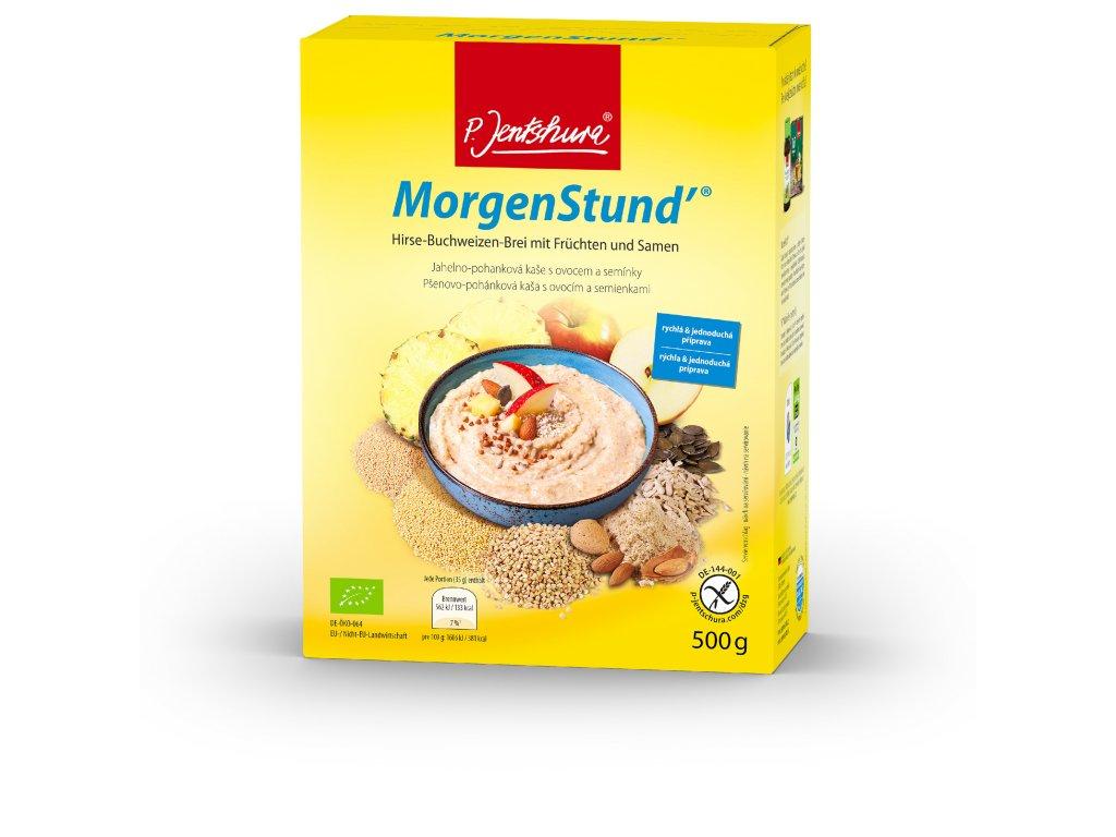 P. Jentschura MorgenStund snídaňová kaše bezlepková BIO 500 g / 14 porcí