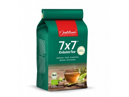 P. Jentschura 7x7 KräuterTee bylinný čaj BIO, sypaný 500 g / 180 litrů