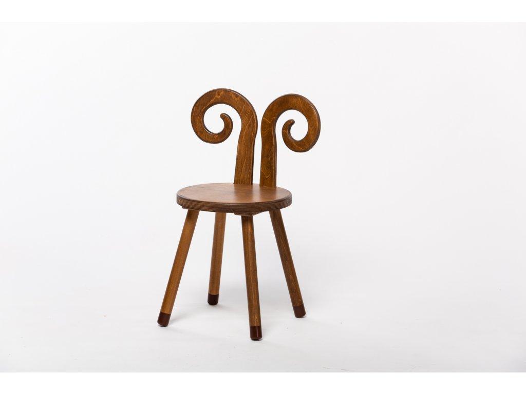 dětská židle BERAN - ořech